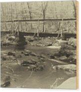 An Old Bridge Wood Print