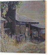 An Old Friend Wood Print