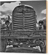 An Old International Truck Wood Print