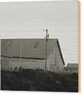 An Old Weathered Barn Wood Print