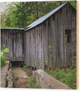 An Ozark Mill Wood Print