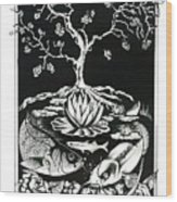 Anacostia River Wood Print