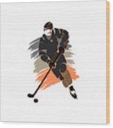 Anaheim Ducks Player Shirt Wood Print