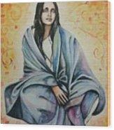 Ananda Mayi Ma Wood Print