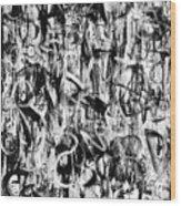 Anarchy Wood Print