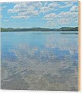 Anasagunticook Lake, Canton, Me, Usa 10 Wood Print