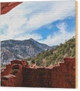 Anasazi Cliff Dwellings #21 Wood Print
