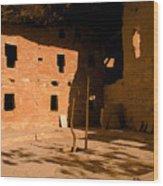 Anasazi Kiva Wood Print