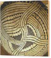 Anasazi Pot Wood Print