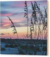 Anastasia Sunset Wood Print