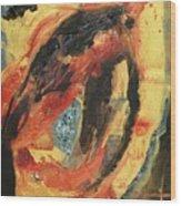 Ancestral Eye Wood Print