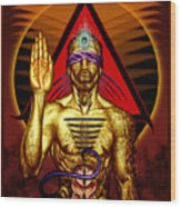 Ancestral Intuition Wood Print