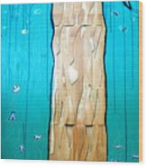 Ancestral Tree Indians To The Sea Wood Print