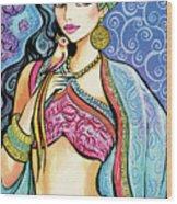 Anchita Wood Print