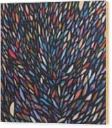 Anchovies  Abstract Fish Wood Print