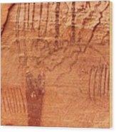 Ancient Art 3 Wood Print