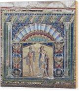 Ancient Art Of Herculaneun Wood Print