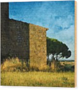 Ancient Church - Italy Wood Print