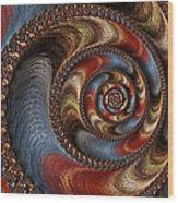 Ancient Circularis Wood Print