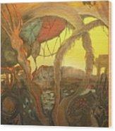 Ancient Dawn Of New Kings Wood Print