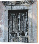 Ancient Door 3 Wood Print