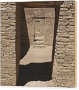 Ancient Doorways Wood Print