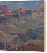 Ancient Formations North Rim Grand Canyon National Park Arizona Wood Print