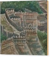 Ancient Fort Wood Print