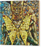 Ancient Goddess The Mother Wood Print