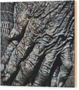 Ancient Hands Wood Print by Skip Nall