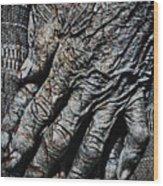 Ancient Hands Wood Print