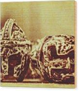 Ancient History Wood Print