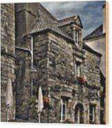 Ancient Mansion - Rochefort-en-terre - La Bretagne Wood Print
