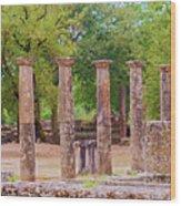 Ancient Olympia, Greece. Wood Print