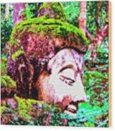 Ancient One Wood Print
