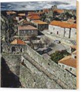 Ancient Portuguese Cities Wood Print