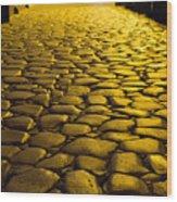 Ancient Roadway Wood Print