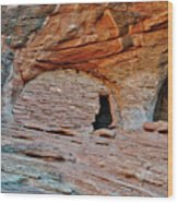 Ancient Ruins Mystery Valley Colorado Plateau Arizona 05 Wood Print