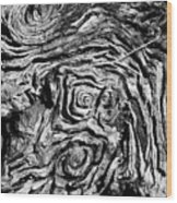 Ancient Stump Wood Print
