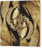 Ancient Symbols Wood Print