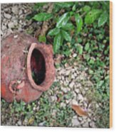 Ancient Urn 1 Wood Print