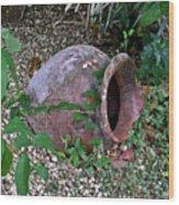 Ancient Urn 2 Wood Print