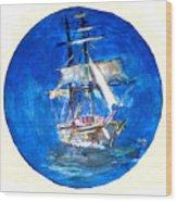 Ancient Vessel Wood Print