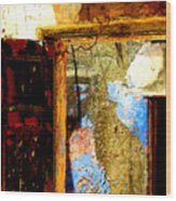 Ancient Wall 3 By Michael Fitzpatrick Wood Print by Mexicolors Art Photography