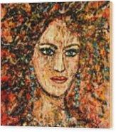 Ancient Woman Wood Print