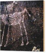 Ancient Zoo - Prehistoric Wood Print