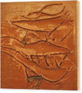 Ancients Live - Tile Wood Print