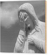 And Jesus Wept II Wood Print