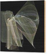 And The Angel Spoke..... Wood Print