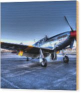 And Who Could Forget Betty Jean.  P51c Nl25imx  Wood Print